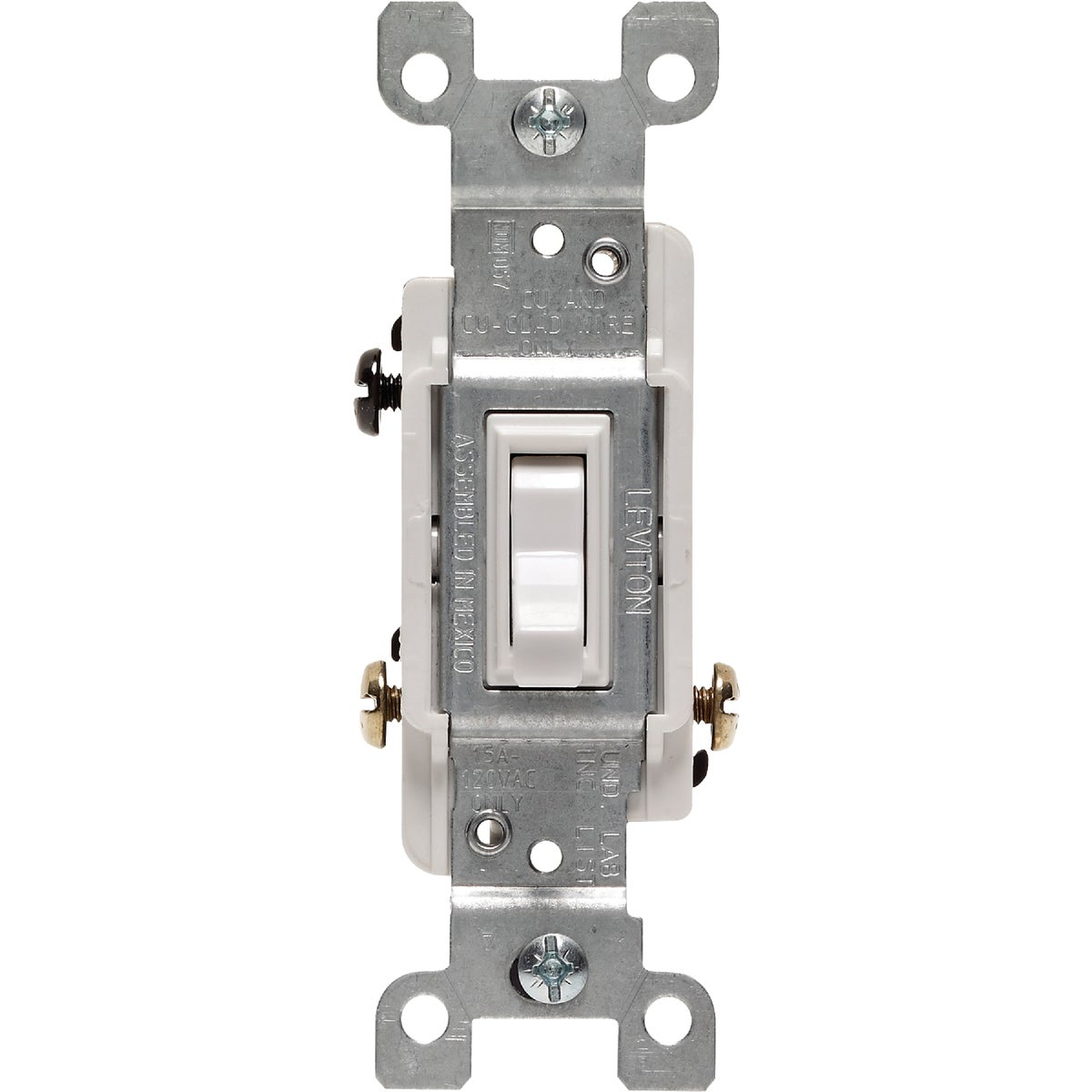 WHT 3-WAY SWITCH - 1453WCP by Leviton Mfg Co