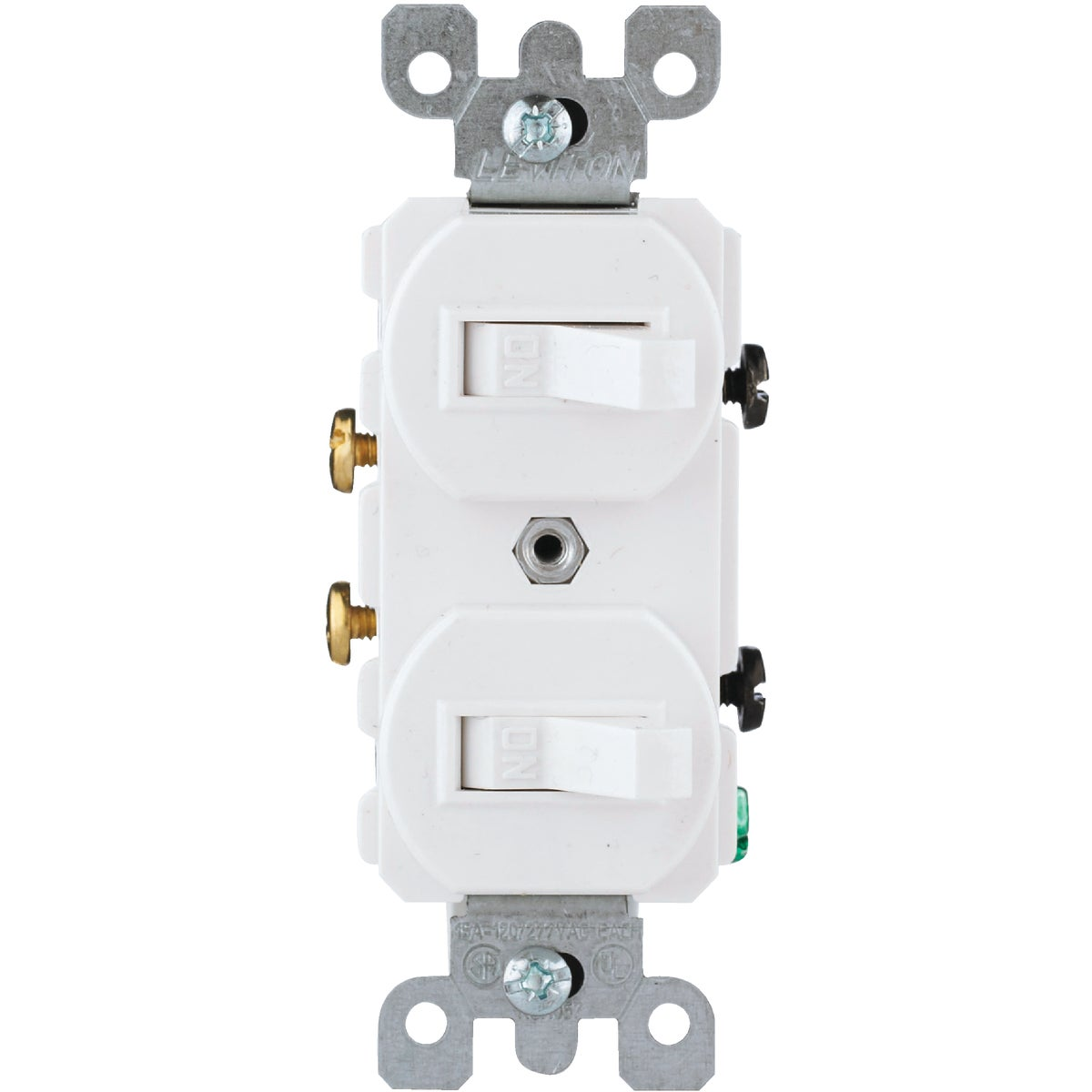 WHT DUPLEX SWITCH - R62052242WS by Leviton Mfg Co