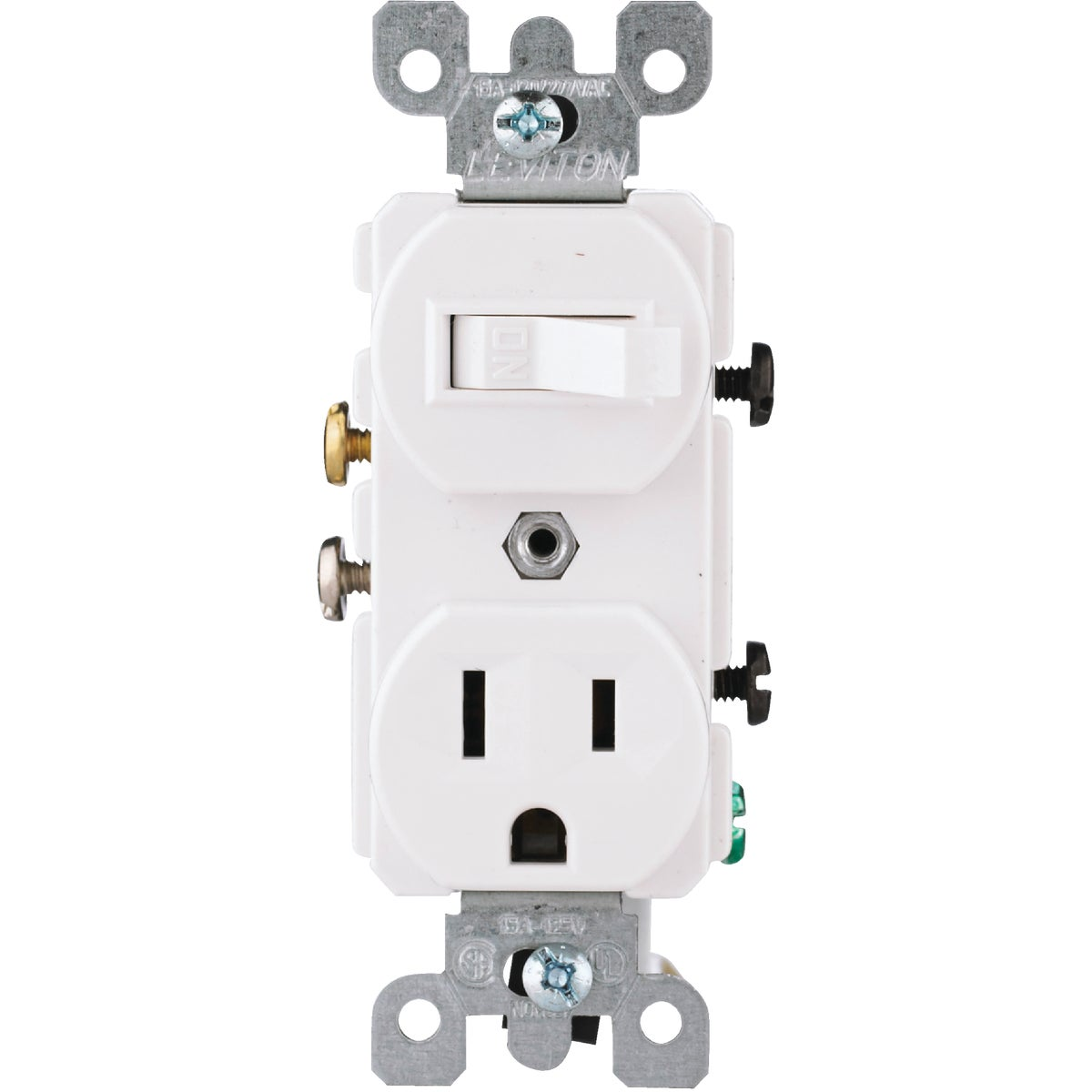 WHT SWITCH/OUTLET - 52250WS by Leviton Mfg Co