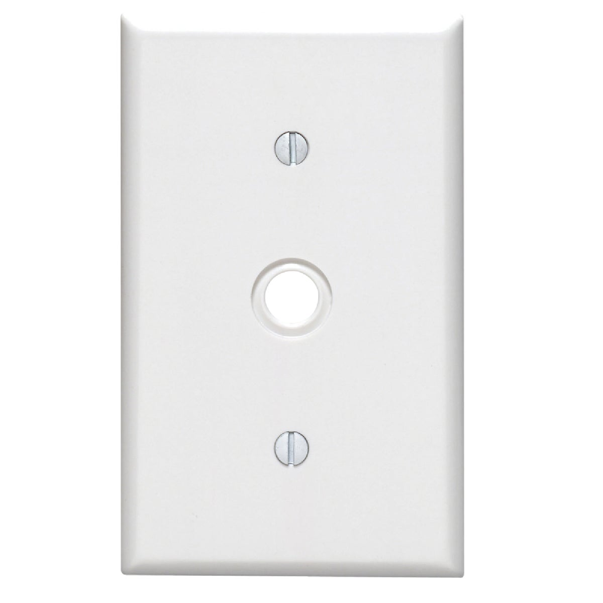 WHT PHONE WALL PLATE - 88018 by Leviton Mfg Co