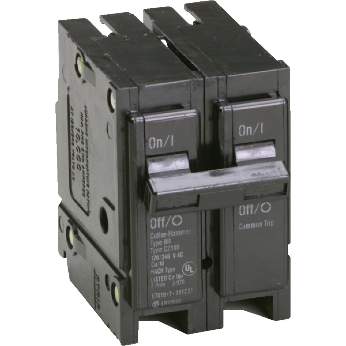 15A 2P CIRCUIT BREAKER - BR215 by Eaton Corporation