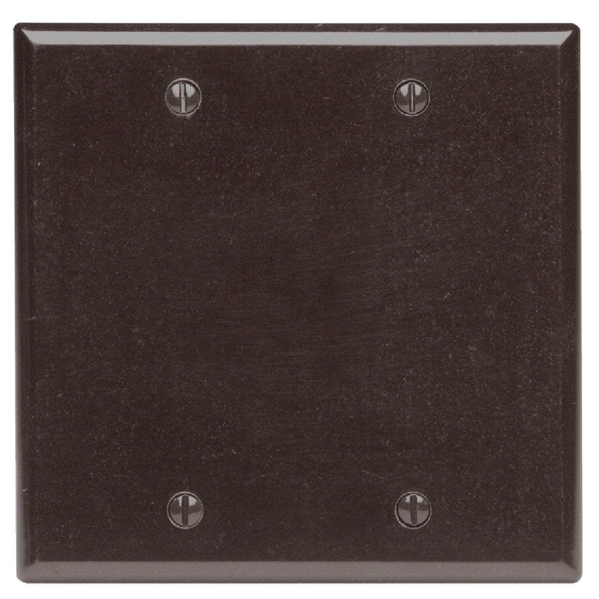 BRN BLANK WALL PLATE - 85025 by Leviton Mfg Co