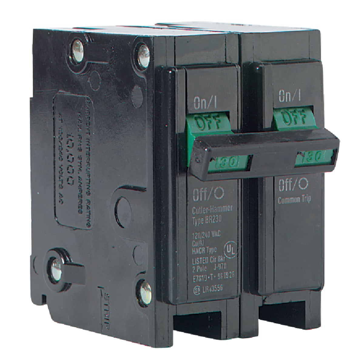 30A 2P CIRCUIT BREAKER - BR230 by Eaton Corporation