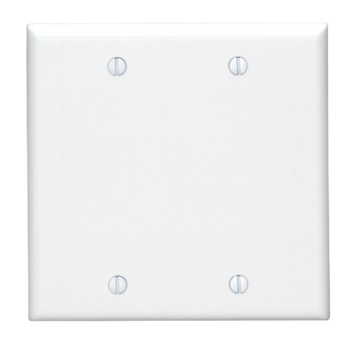 WHT BLANK WALL PLATE
