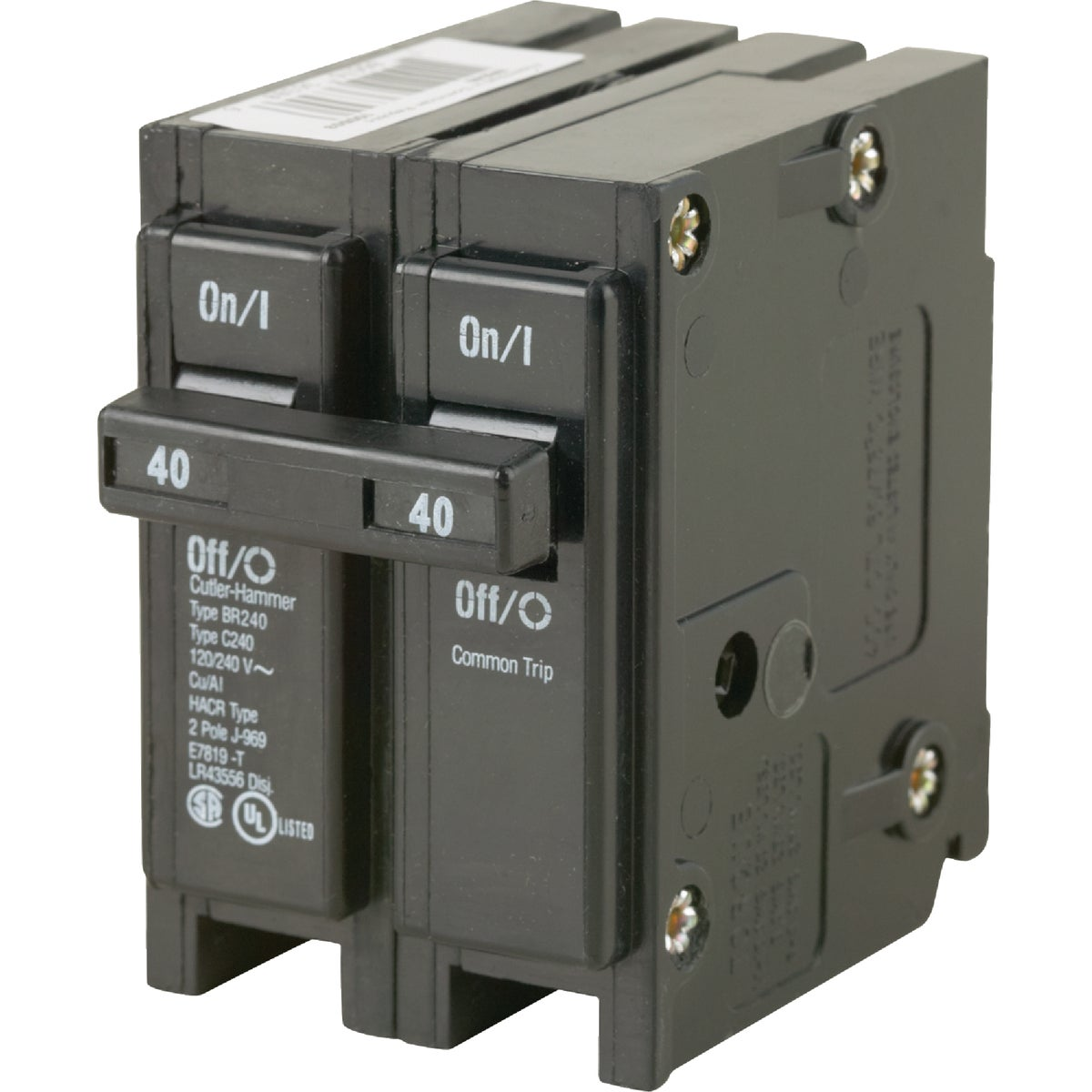 40A 2P CIRCUIT BREAKER - BR240 by Eaton Corporation