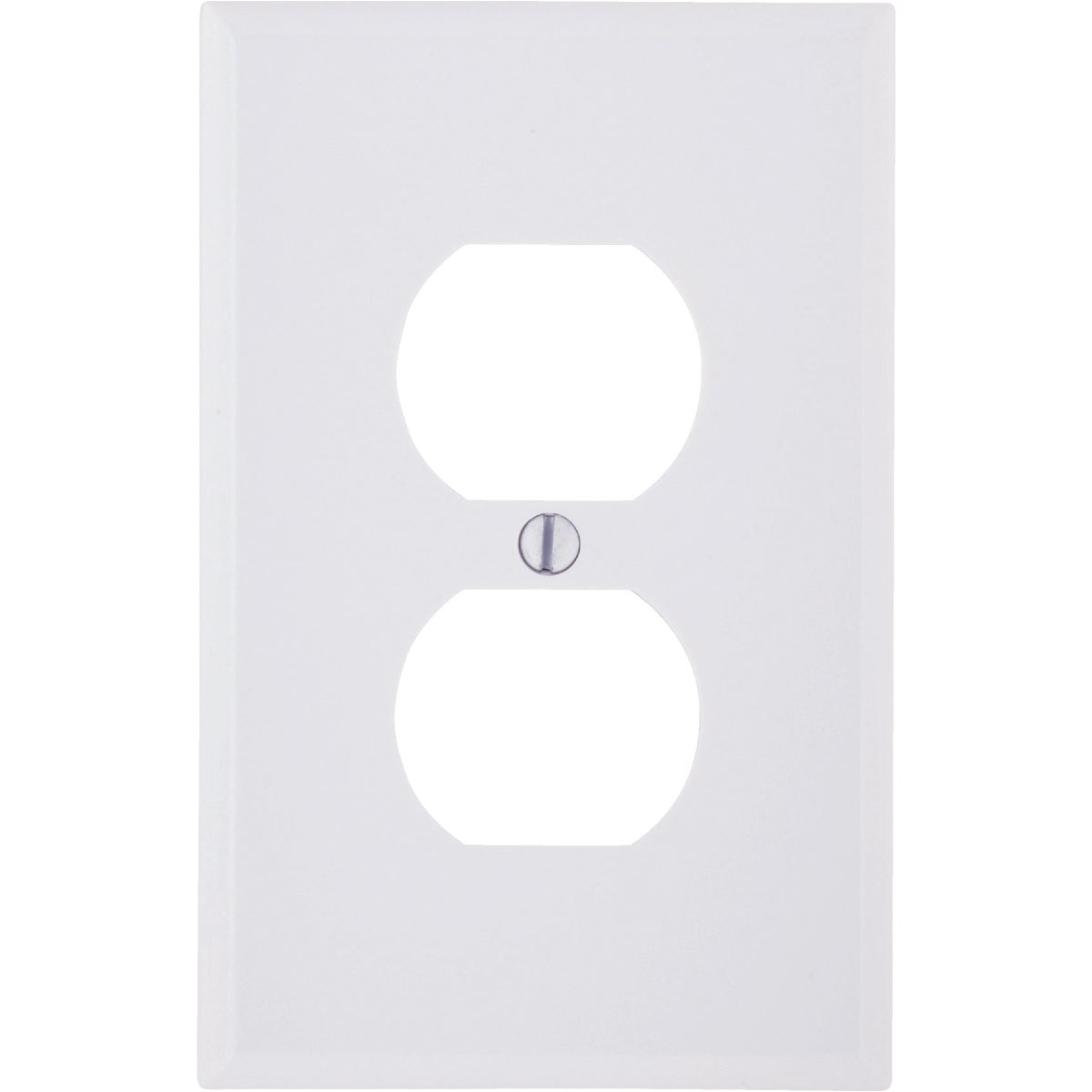 WHT DUPLEX WALLPLATE - 021-80503-00W by Leviton Mfg Co