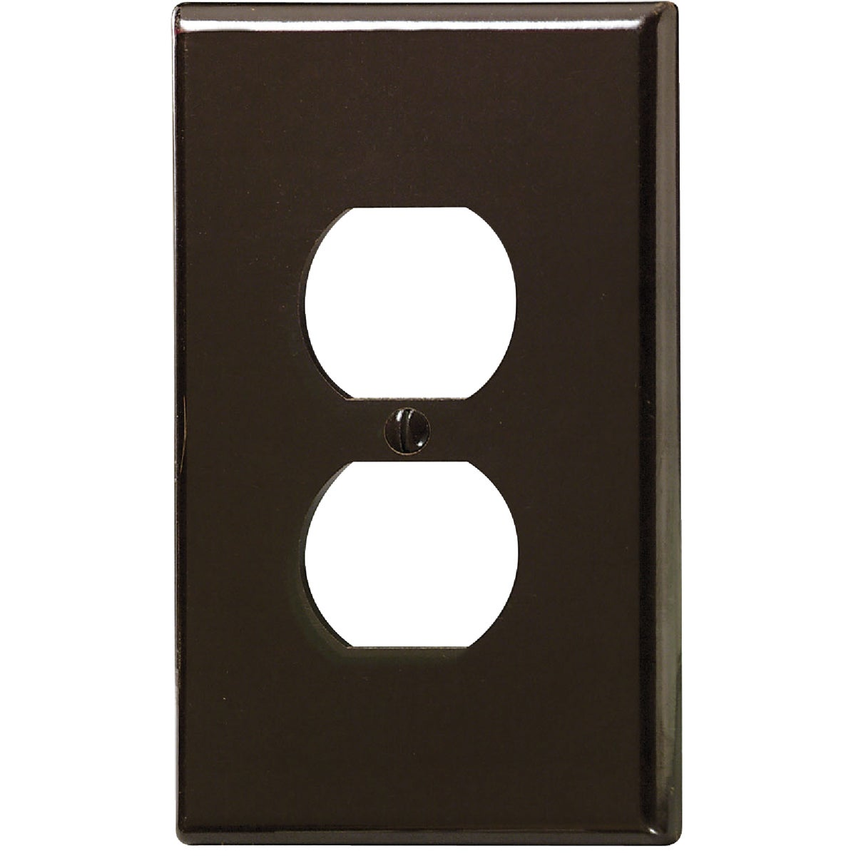 BRN DUPLEX WALL PLATE - 85103 by Leviton Mfg Co