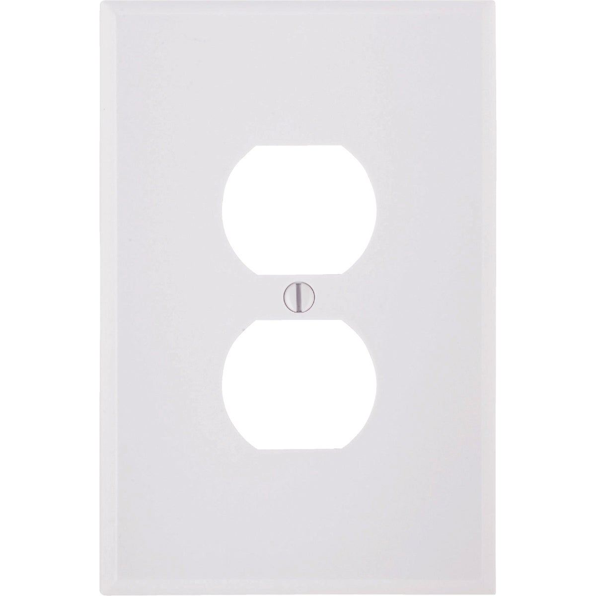 WHT DUPLEX WALL PLATE - 88103 by Leviton Mfg Co