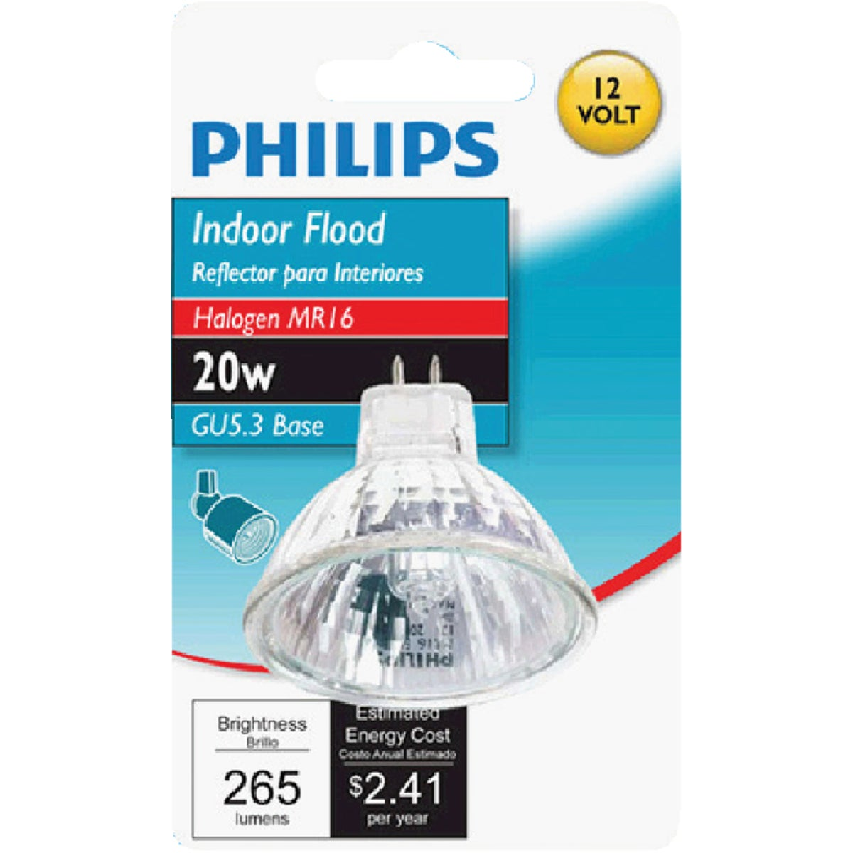 20W GU4 MR11 BULB - 04750 by Westinghouse Lightng