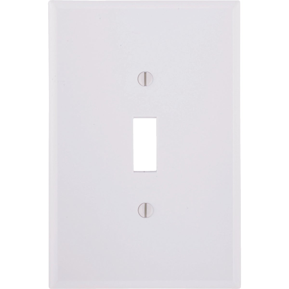 WHT 1-TOGGLE WALL PLATE - 88101 by Leviton Mfg Co