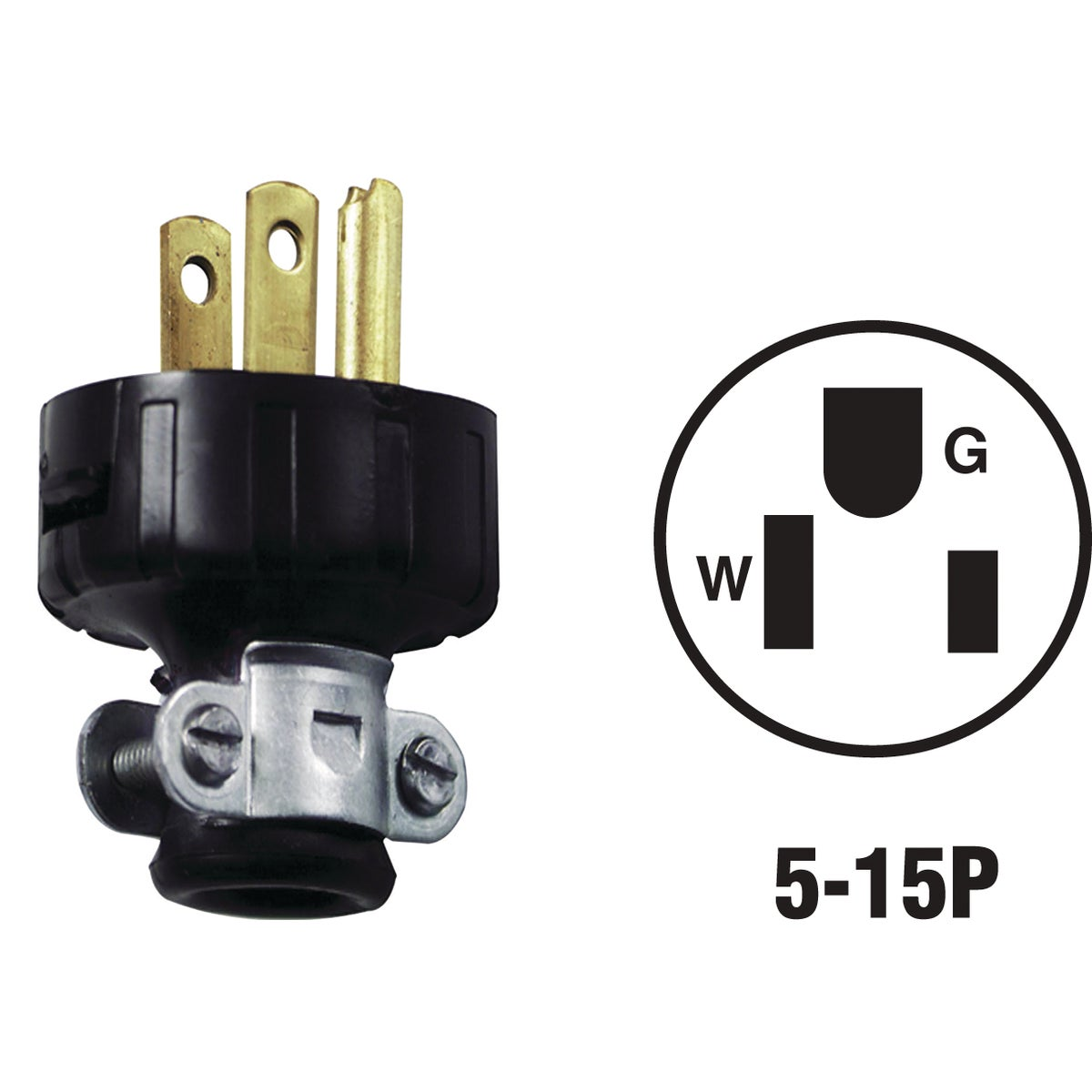 BLK CORD PLUG - 87548648 by Leviton Mfg Co