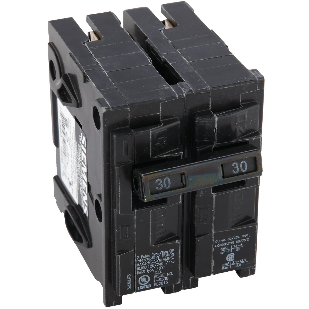 30A 2P CIRCUIT BREAKER - Q230 by Connecticut Electric