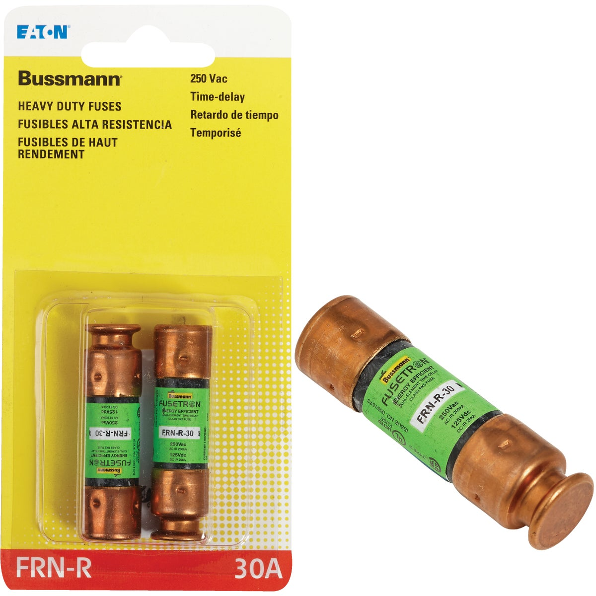 30A CARTRIDGE FUSE - BP/FRN-R-30 by Bussmann Cooper