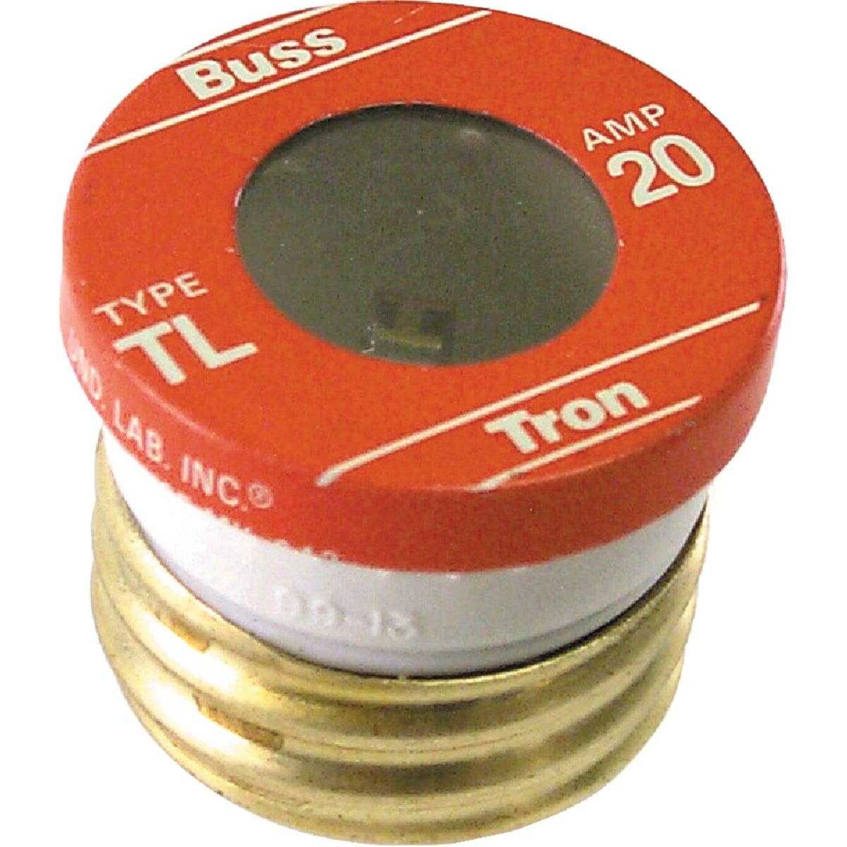 20A PLUG FUSE - BP/TL-20 by Bussmann Cooper