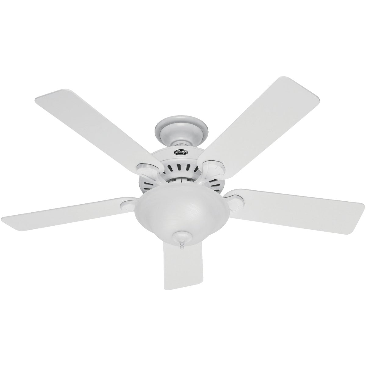 "52"" WHT FAN W/LIGHT - 53251 by Hunter Fan Co"