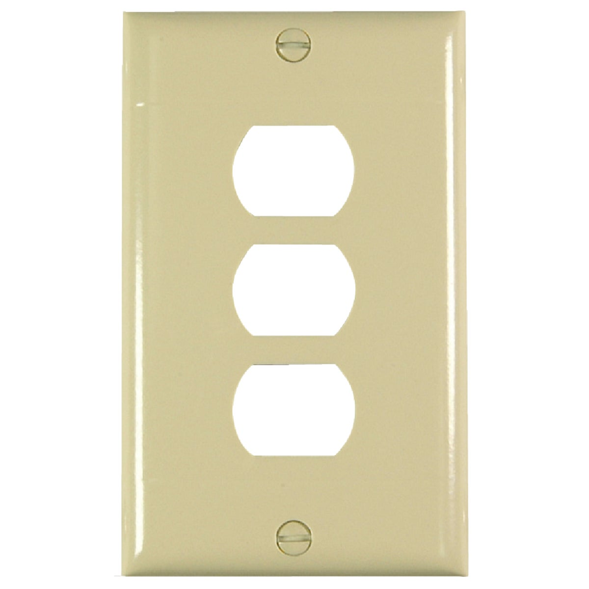 IV RIBBED WALL PLATE - K3-I by Pass Seymour Legrand