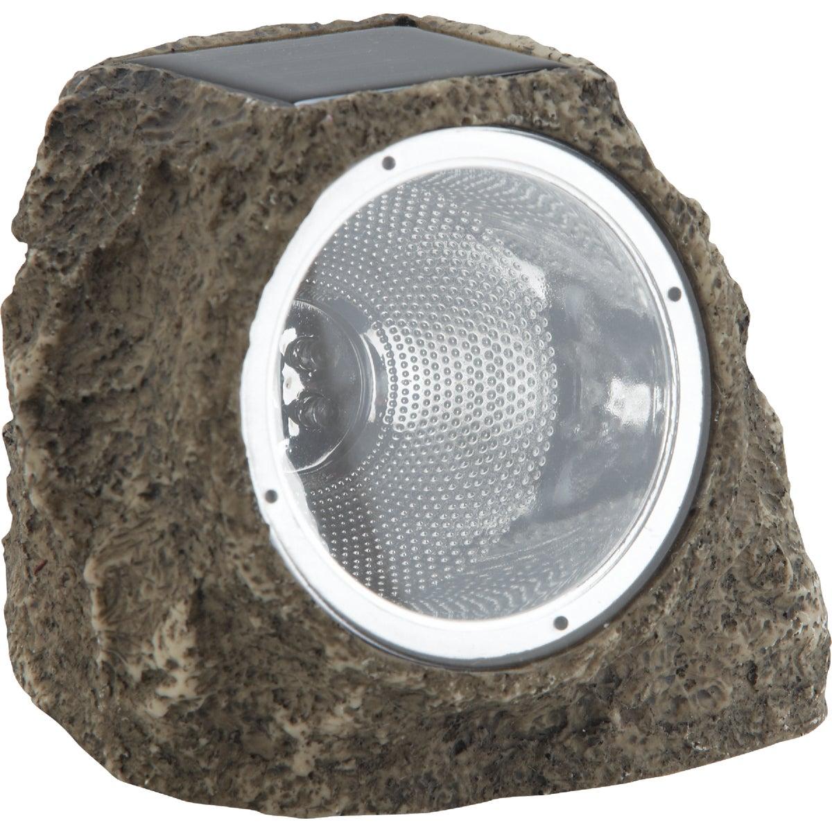 TAN SOLAR ROCK LIGHT