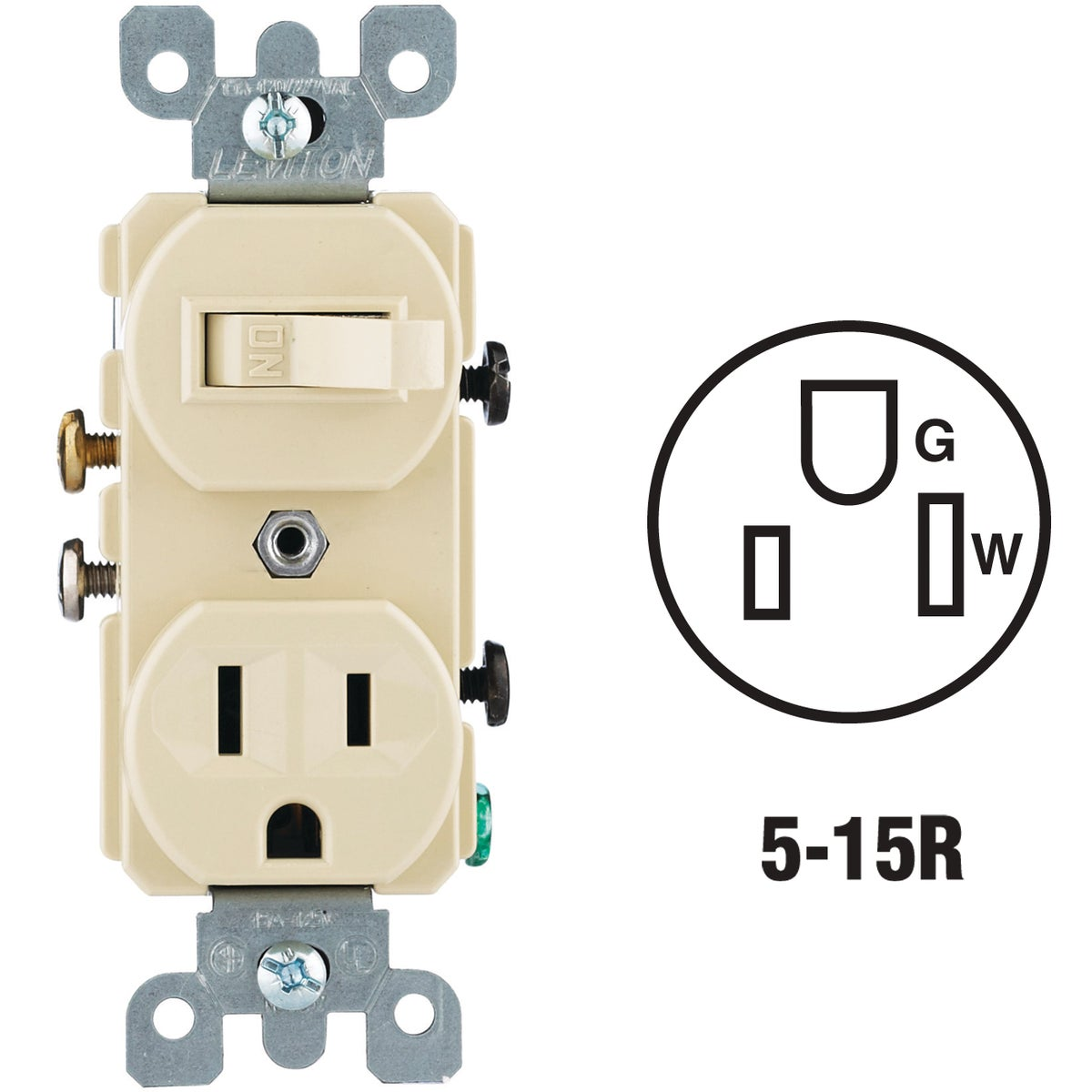 IV SWITCH/OUTLET - 8795225I by Leviton Mfg Co