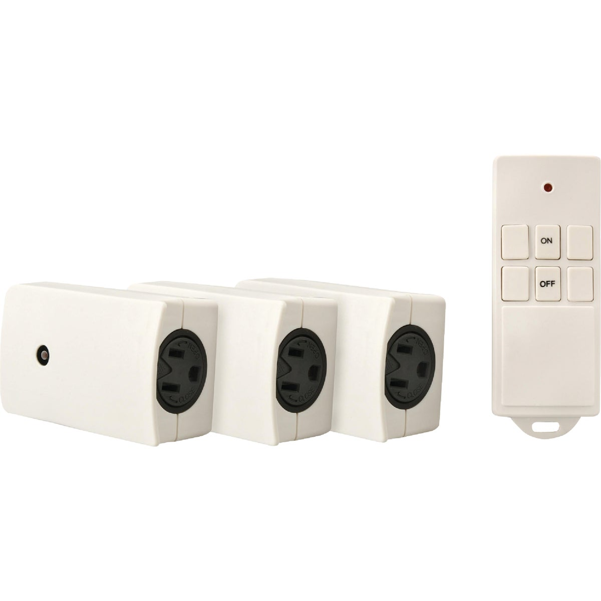 3PK REMOTE OUTLETS - 13569 by Woods Wire Coleman