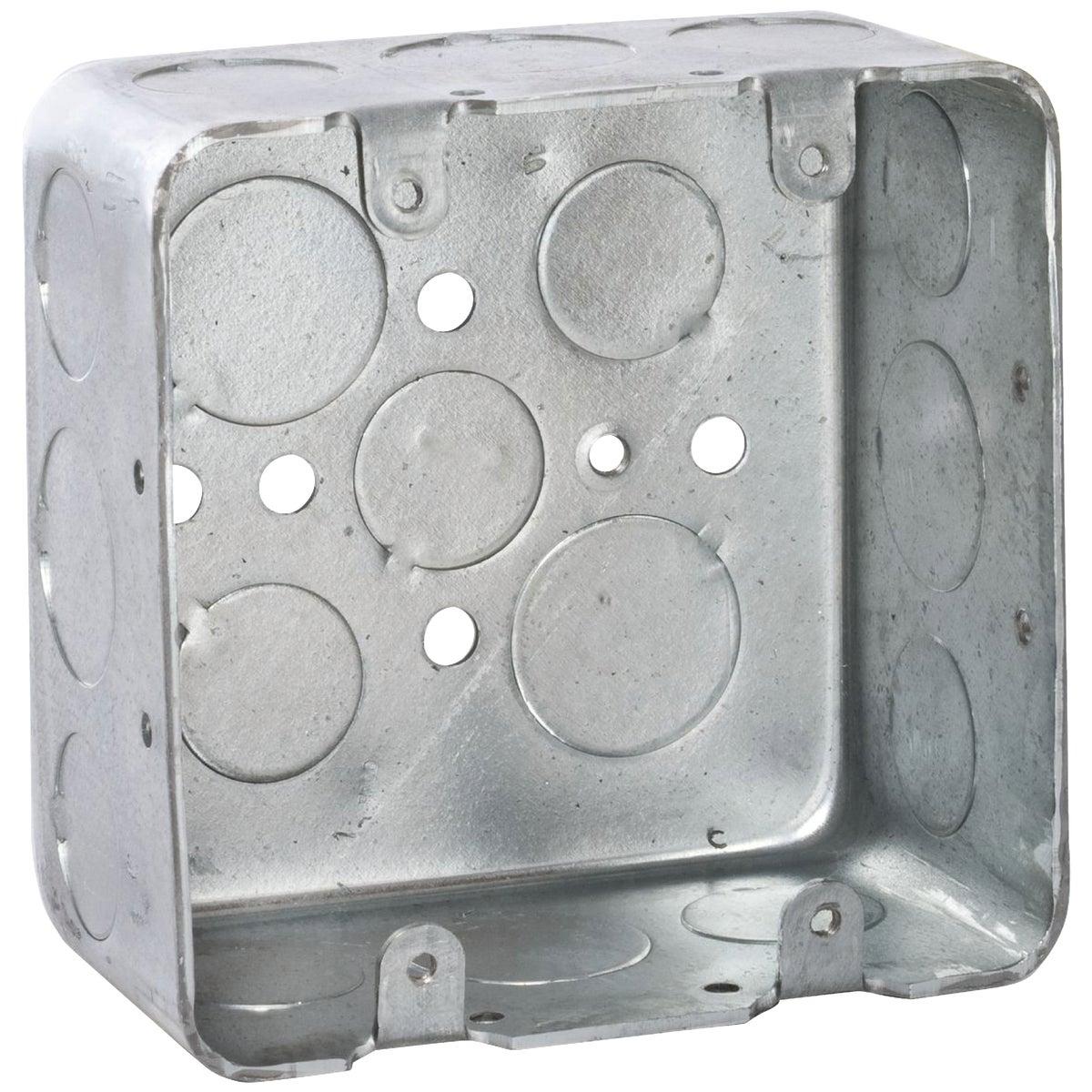 4X4X2-1/8 SQUARE BOX - 2G4D1/23/4 by Thomas & Betts