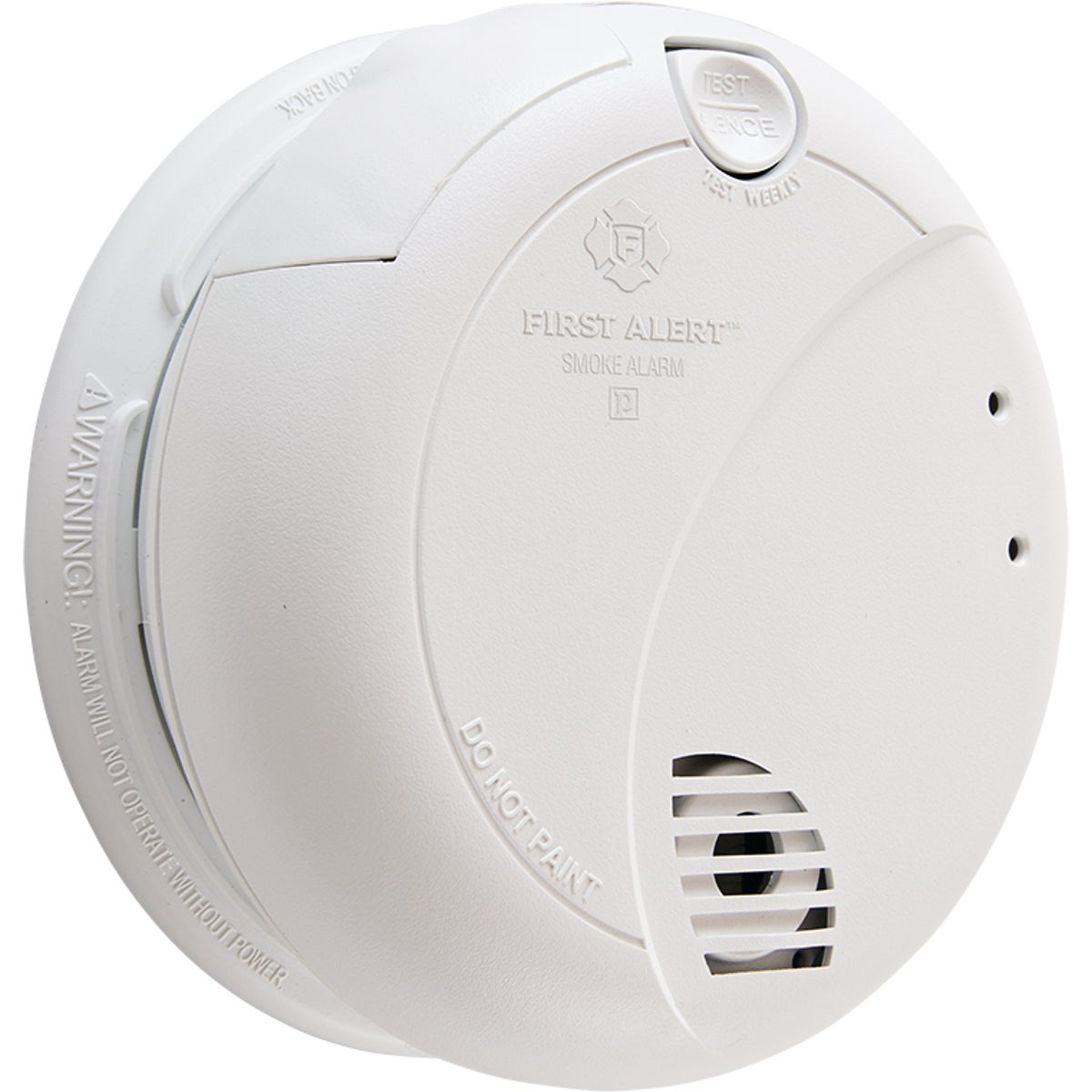 AC SMOKE ALARM W/BATTERY - 7010B by First Alert  Jarden