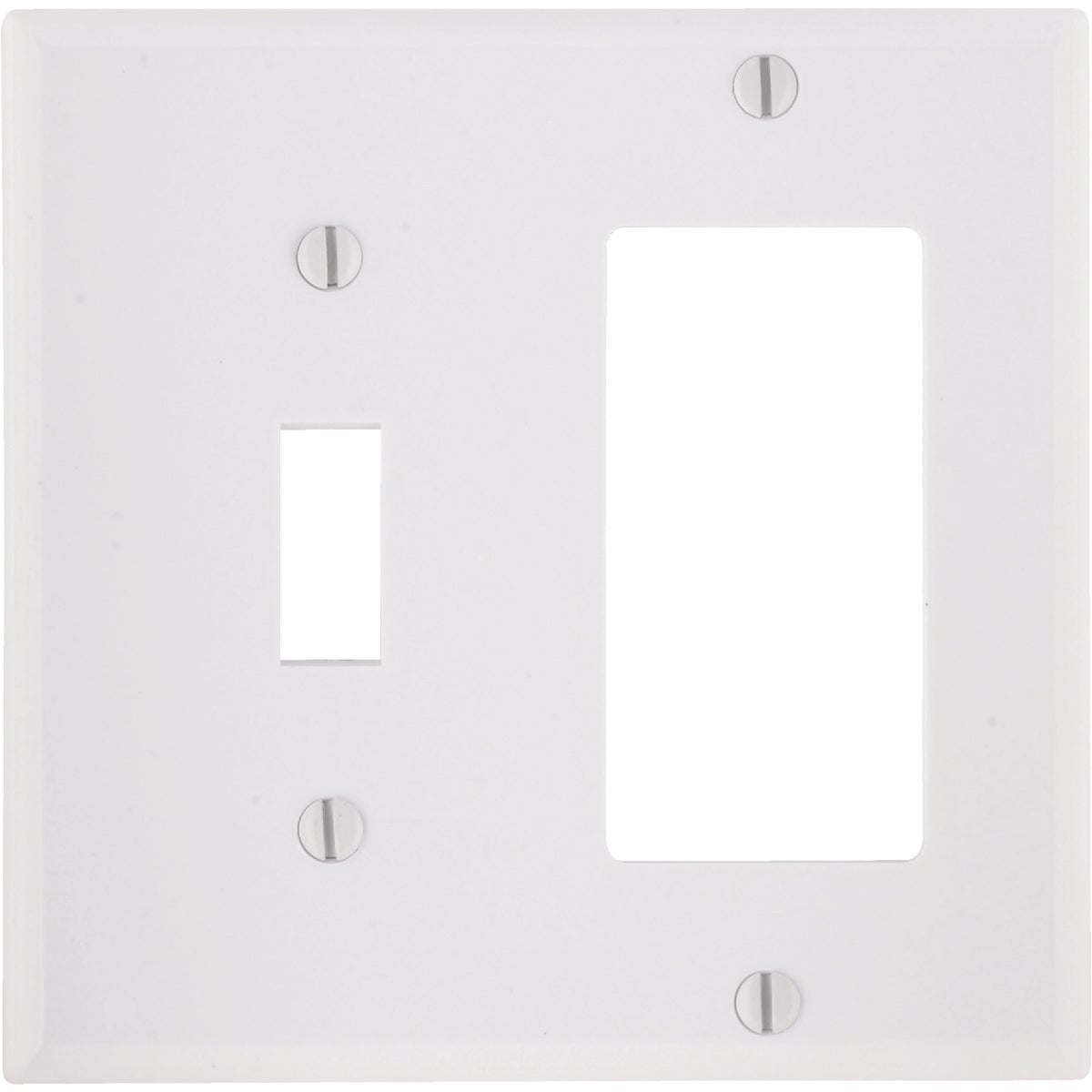 WHT COMBO WALL PLATE - 80405W by Leviton Mfg Co