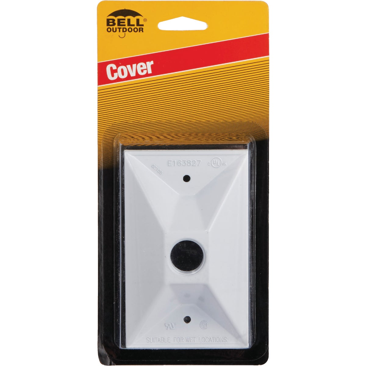 WHT OUTDOOR REC COVER - 5186-6 by Hubbell
