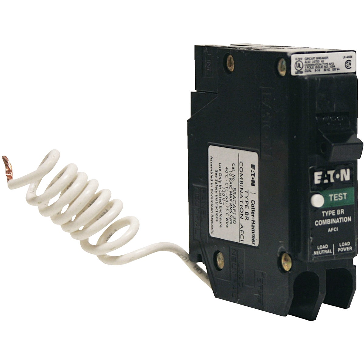 20A AFCI CIRCUIT BREAKER - BRCAF120 by Eaton Corporation