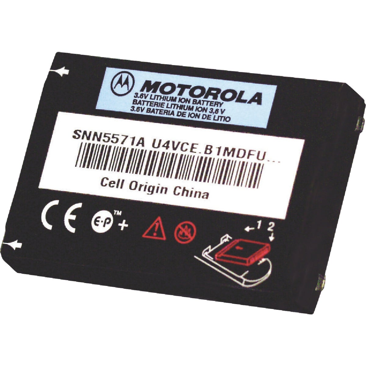 CLS SERIES BATTERY - 56557 by Motorola  Acs Inc