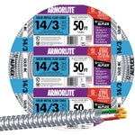 14/3 Aluminum Armored Cable