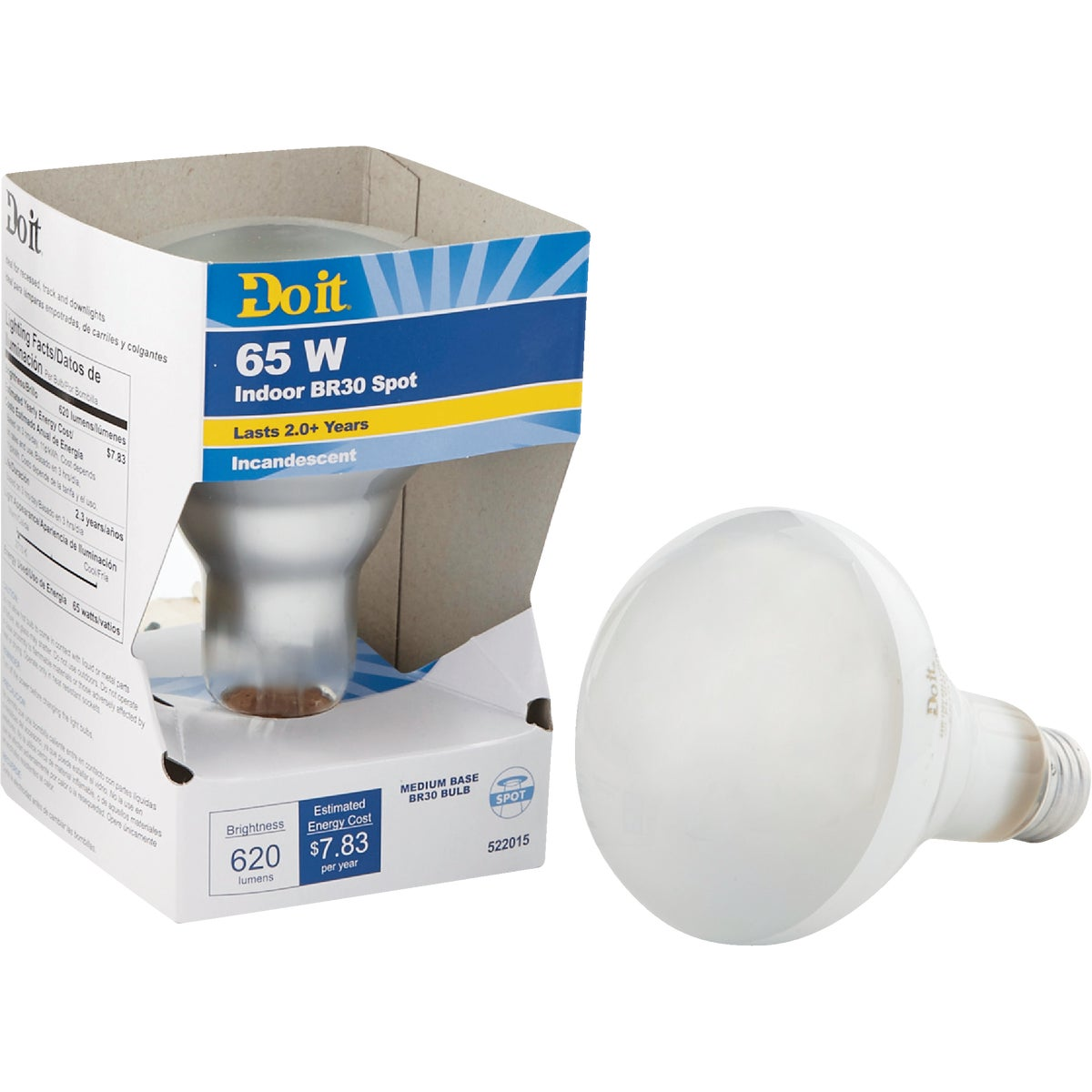 65W BR30 REFLECTOR BULB - 18390 65BR30/SP-DIB by G E Private Label