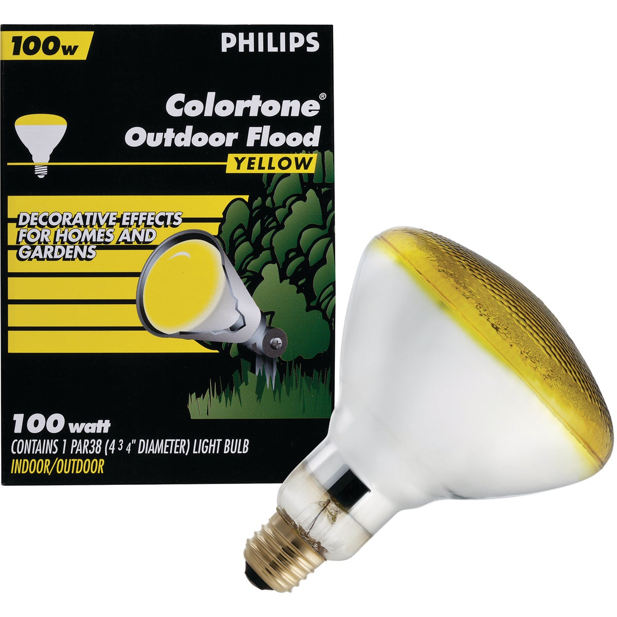 100W AMBR PAR FLOOD BULB - 04411 by Westinghouse Lightng