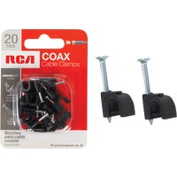 Audiovox Accessories BLACK COAX CABLE NAIL VH102BNV