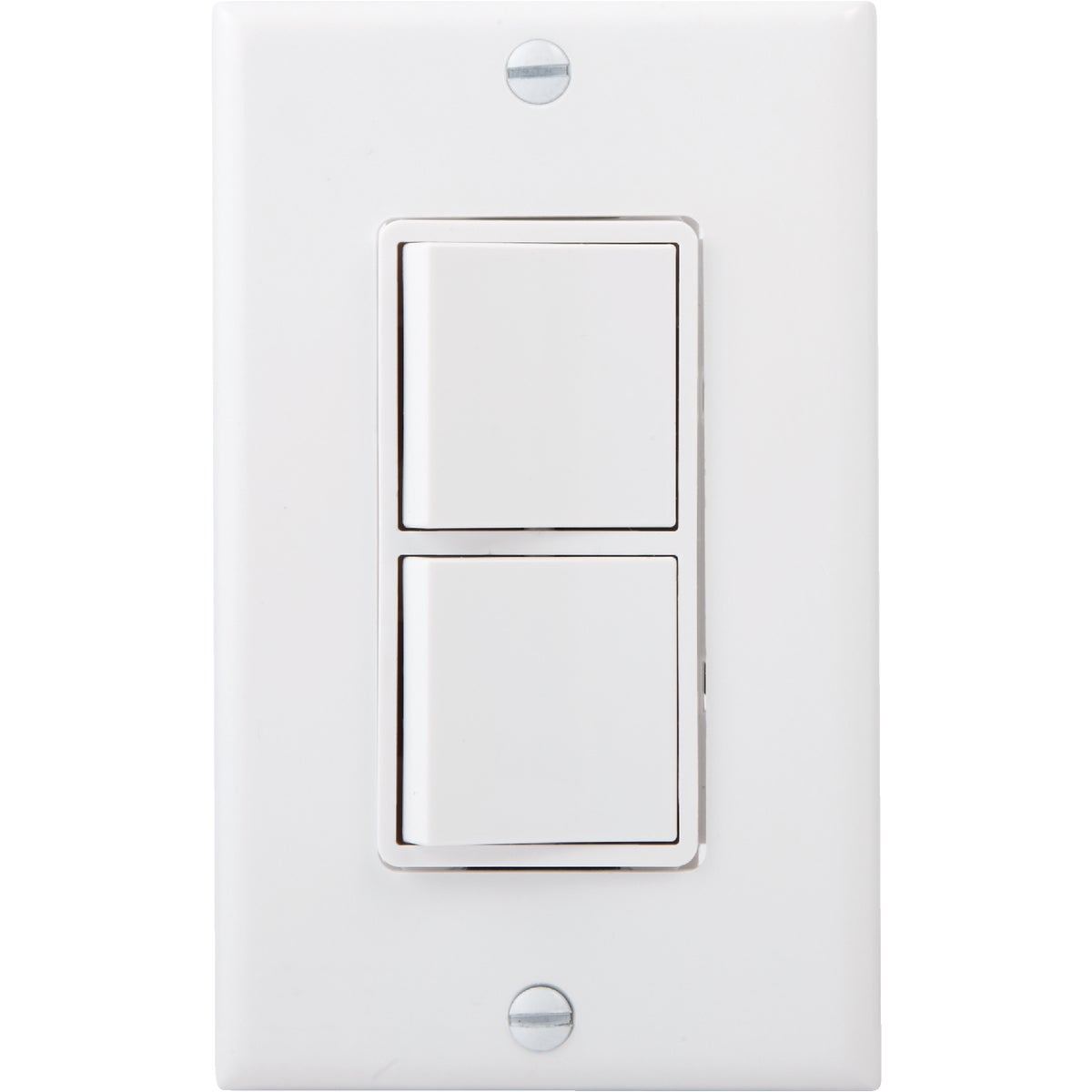WHT DBL SWITCH - 8785679W by Leviton Mfg Co