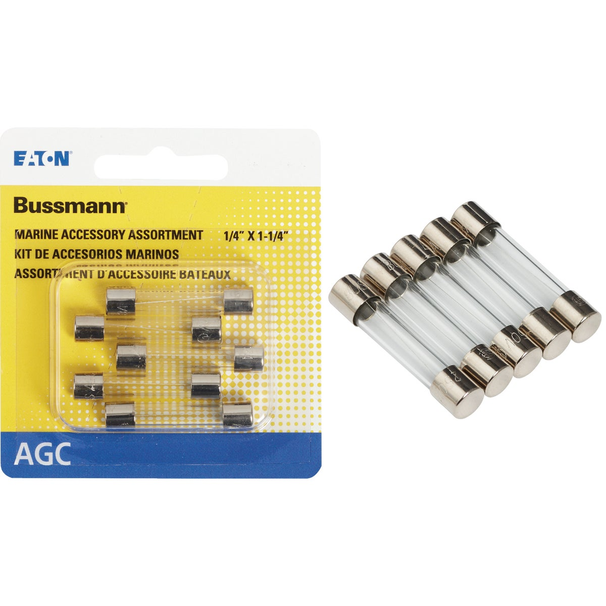 5PK ELECTRONIC FUSE - HEF-1 by Bussmann Cooper