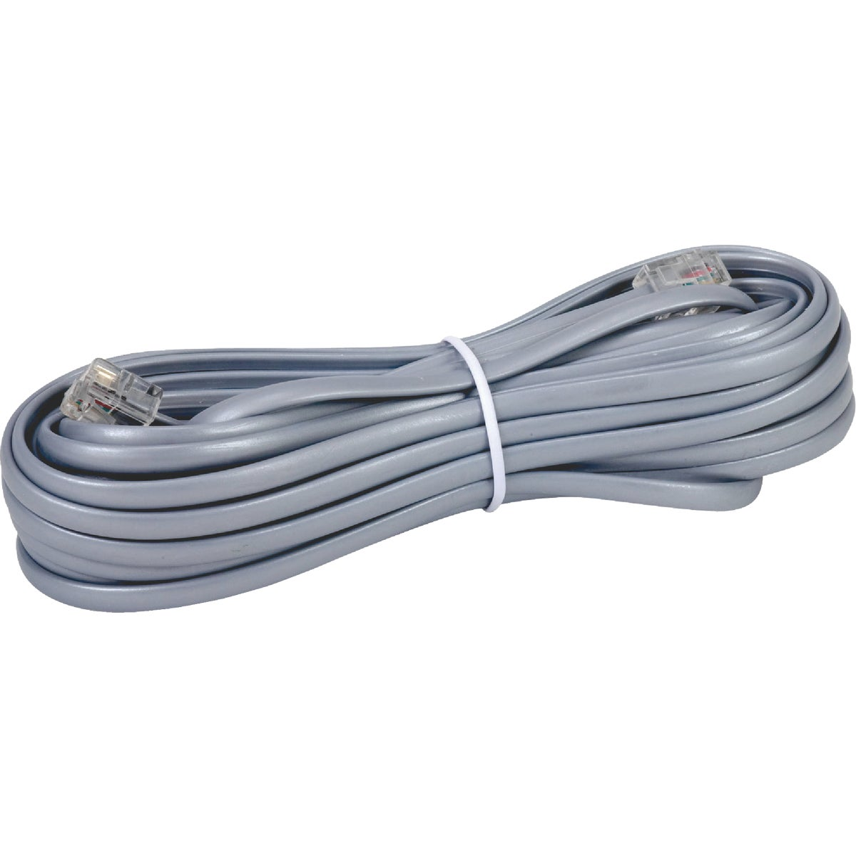 25' GRAY PHONE CORD - TP243SLRV by Audiovox Accessories