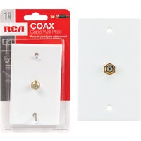 Audiovox Accessories WHT COAXIAL WALL PLATE VH61NV