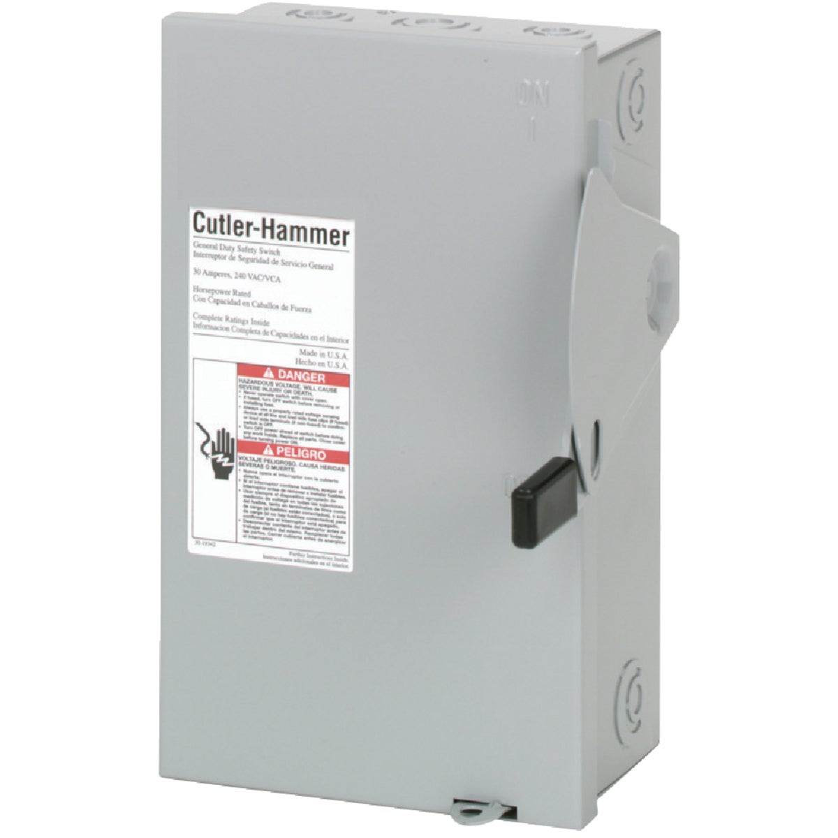 30A SAFETY SWITCH - DG221NGB by Eaton Corporation