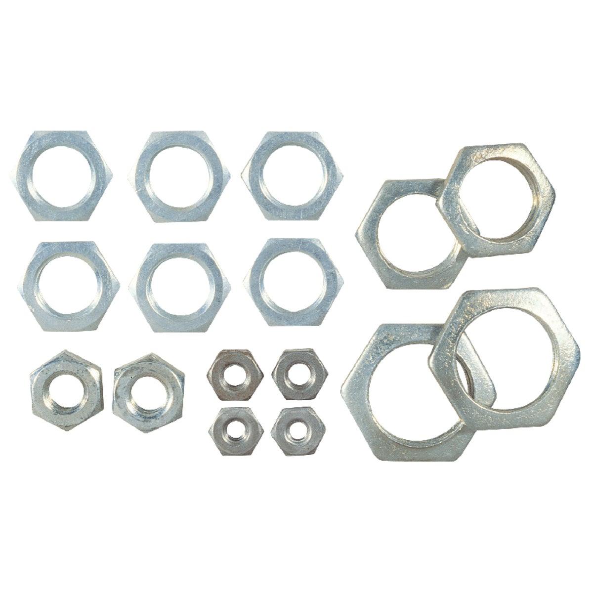 ASSORTED STEEL LOCKNUTS