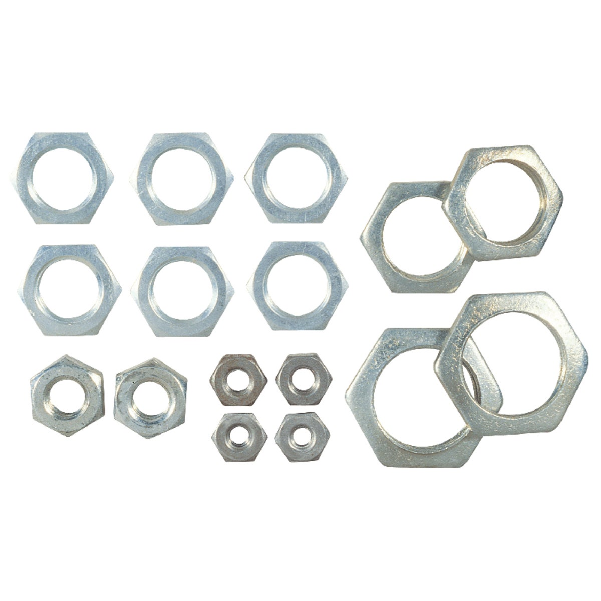 ASSORTED STEEL LOCKNUTS - 70152 by Westinghouse Lightng