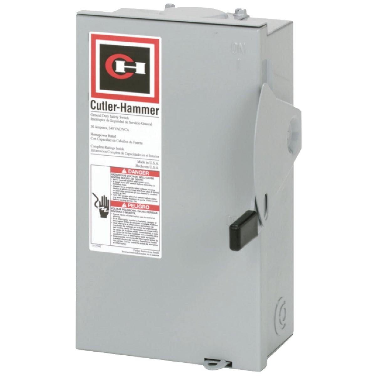 30A SAFETY SWITCH - DG221NRB by Eaton Corporation