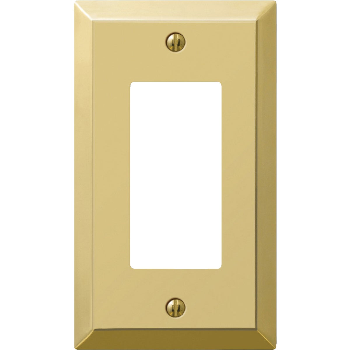 BRASS GFI WALLPLATE - 9BS117 by Jackson Deerfield Mf