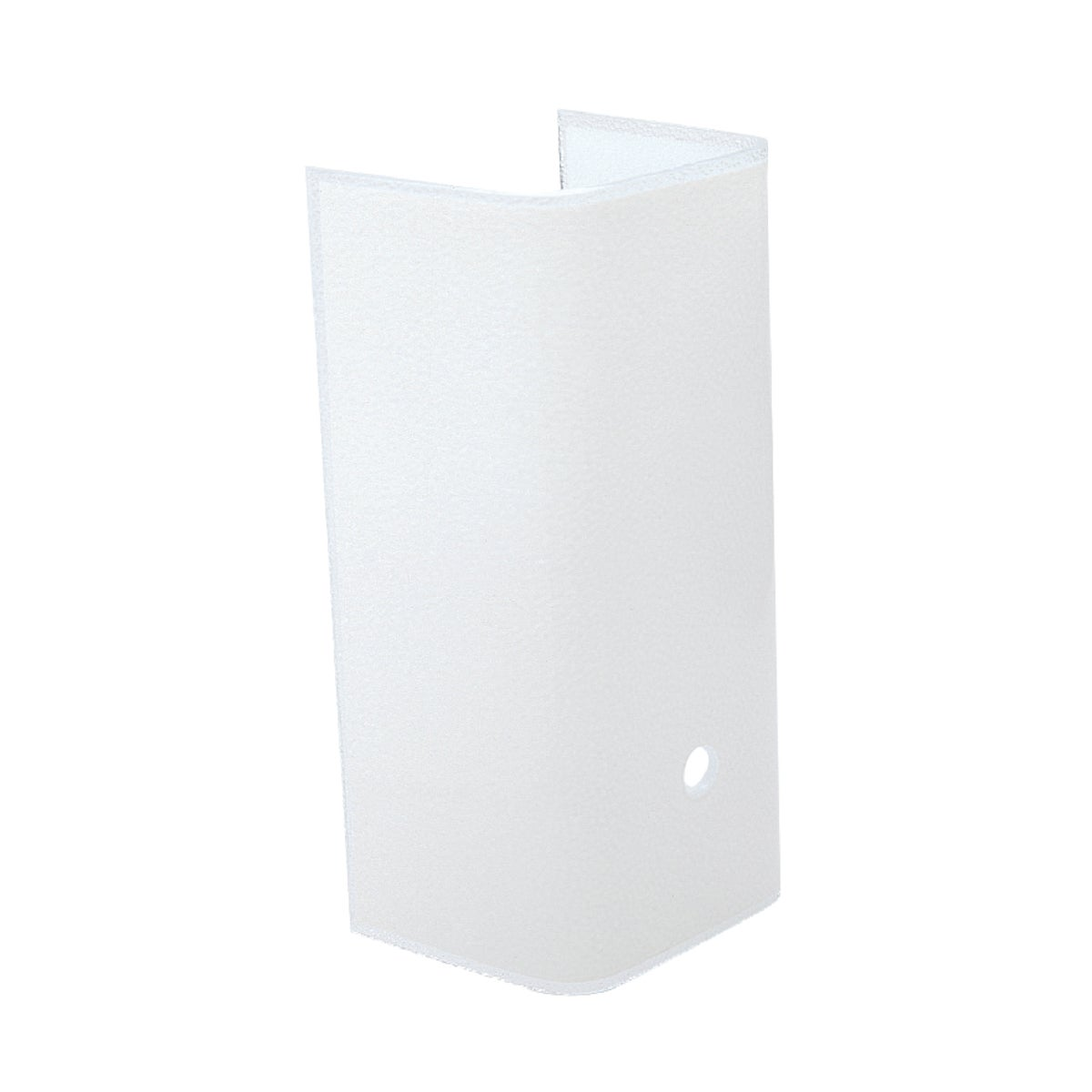 """7-1/2"""" WHT BATH CHANNEL - 81758 by Westinghouse Lightng"""