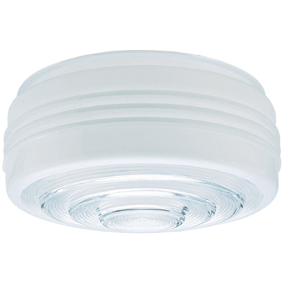 "10"" WHITE GLASS DRUM - 81609 by Westinghouse Lightng"
