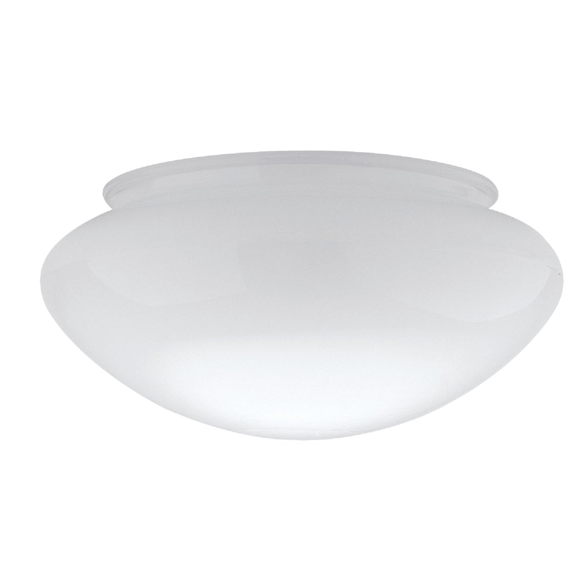 """6"""" WHITE CEILING SHADE - 85613 by Westinghouse Lightng"""