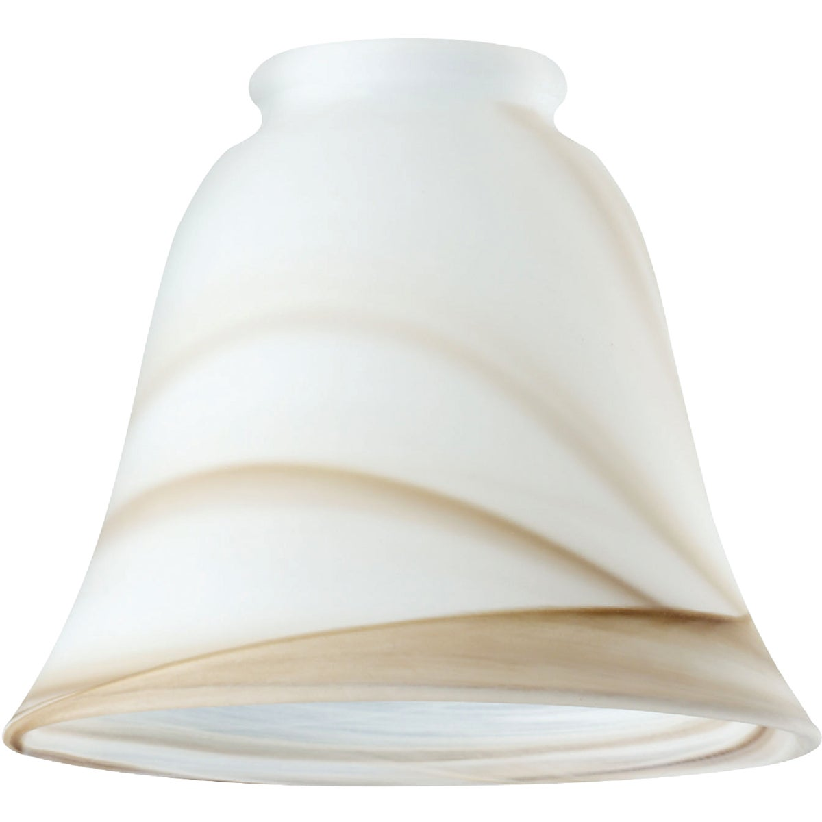 GLASS BELL BROWN SWIRL - 81167 by Westinghouse Lightng