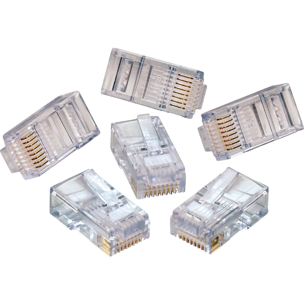 10PACK CAT5E CONNECTOR - 632-47613-EZR by Leviton Mfg Co