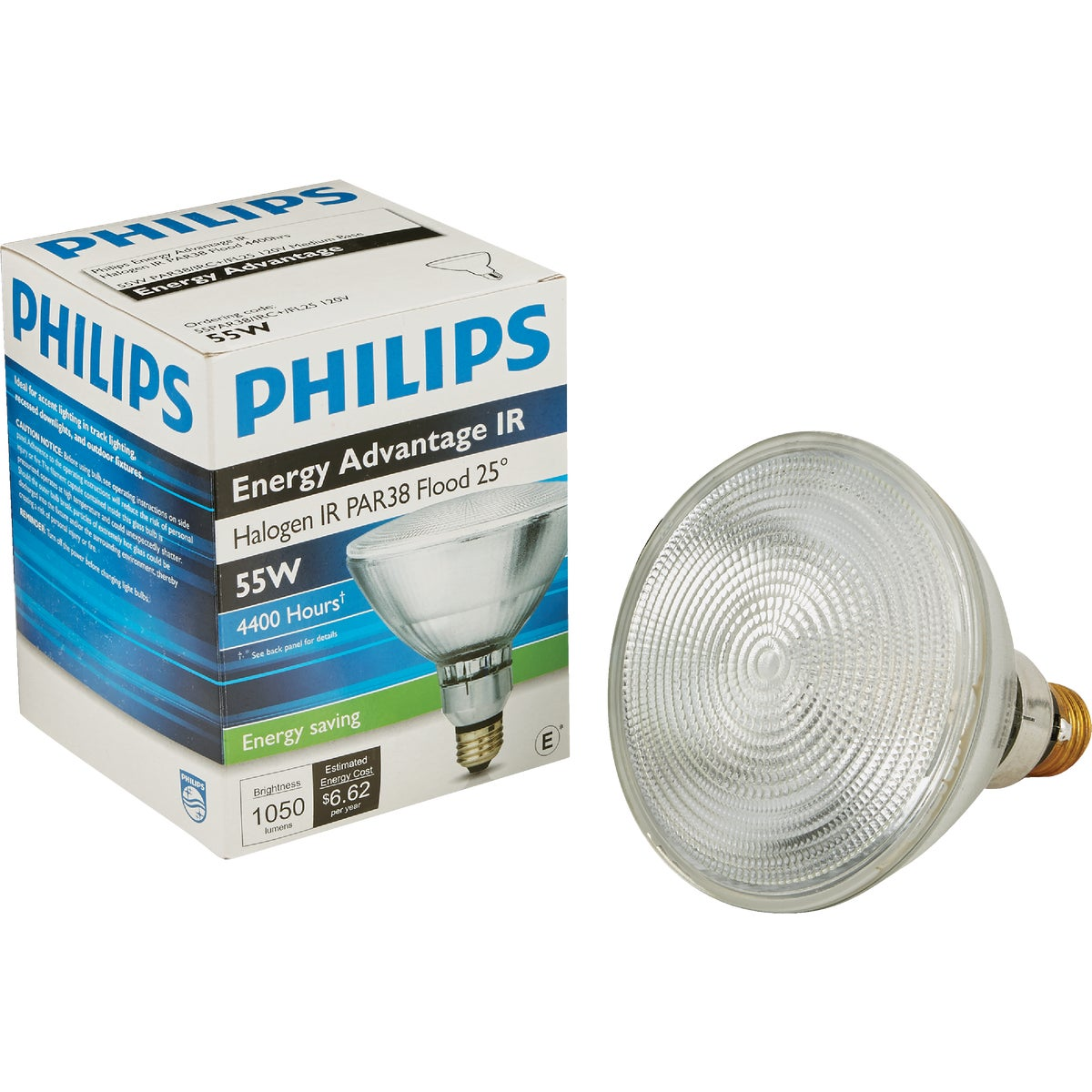 60 WATT PAR HALOGEN IR - 73544 60PAR/HIR+/FL-TP by G E Lighting