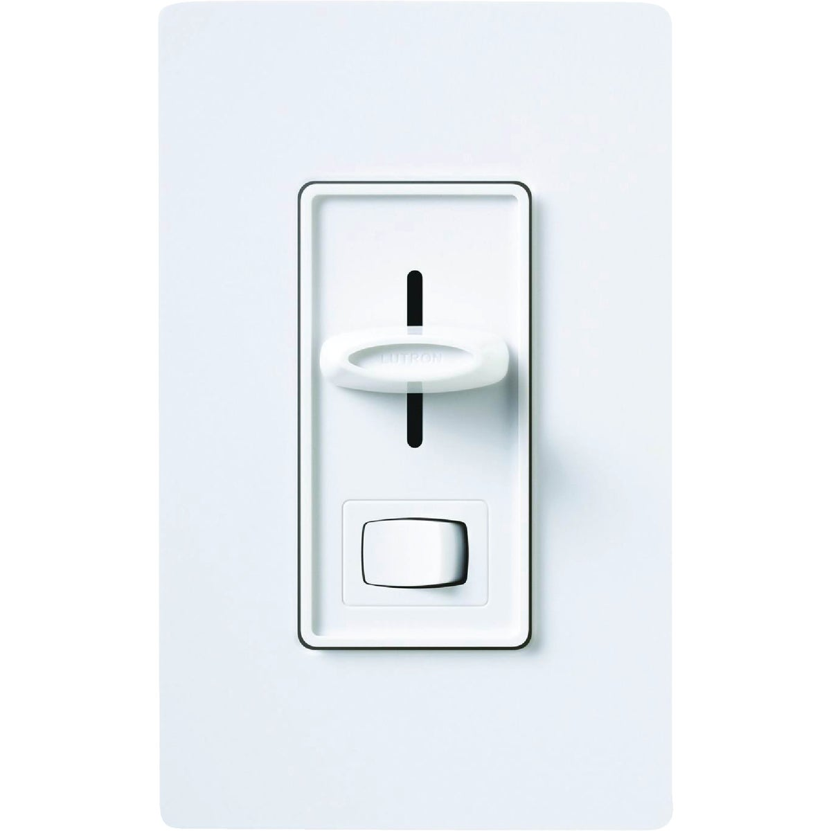 WH 3-WAY SLIDE DIMMER - S-603PGH-WH by Lutron Elect Co Inc