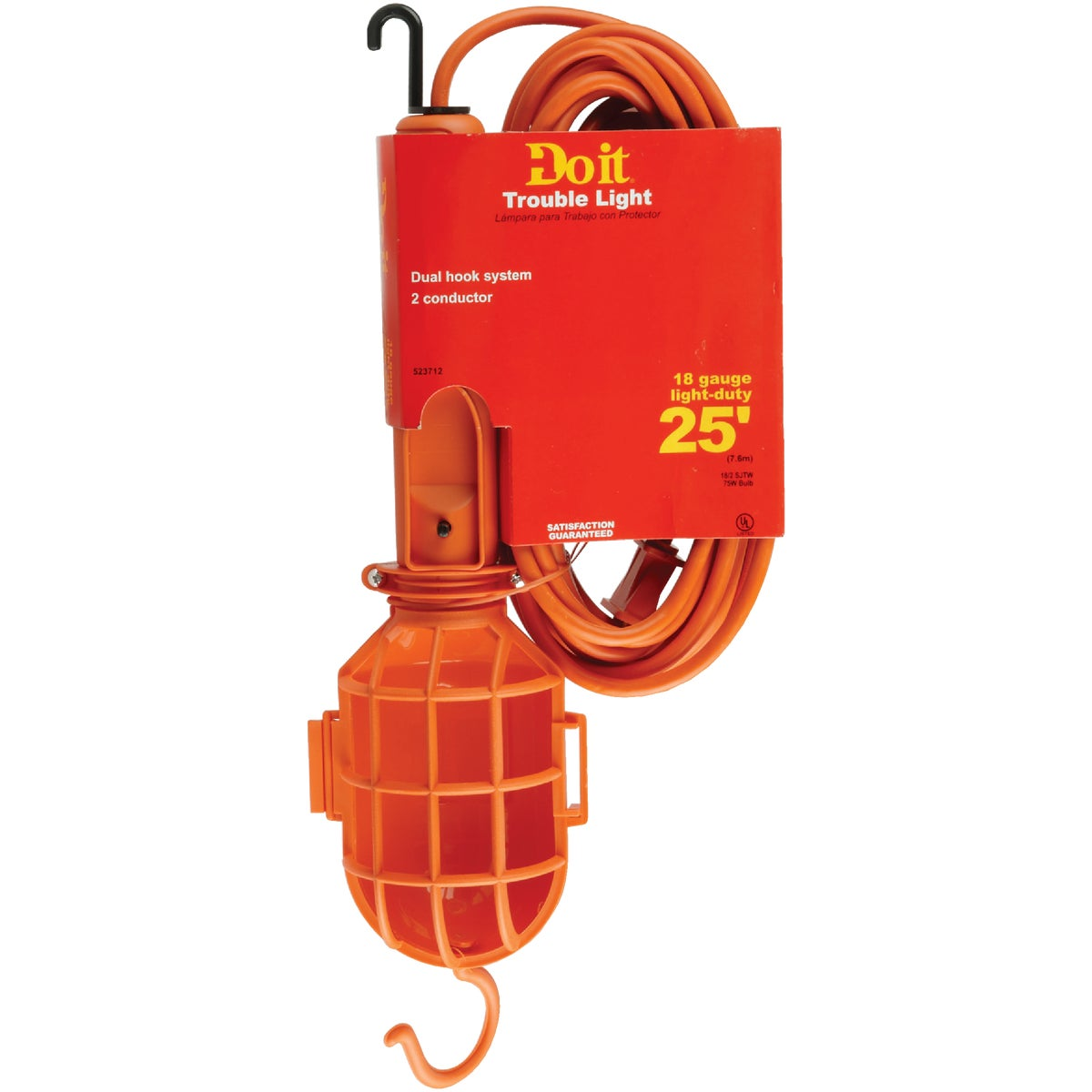 25' 18/2 WORKLIGHT - 550201 by Coleman Cable Hwg